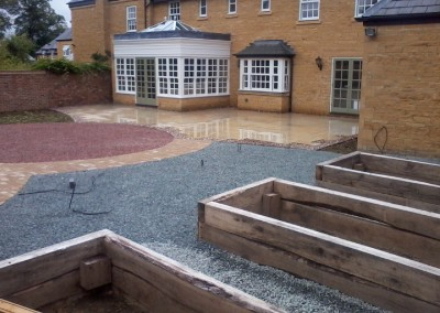 Large Garden Renovation – Blockley, Evesham