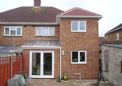 Double Storey Rear Extension Paygrove Lane, Longlevens