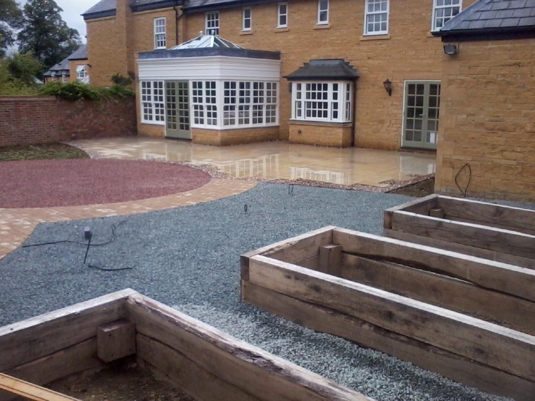 Large Garden Renovation – Blockley, Evesham